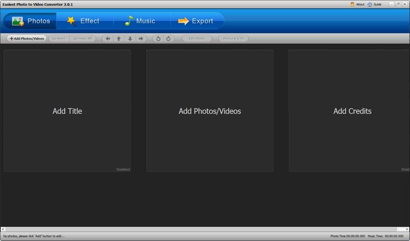 Easiest Photo to Video Converter Windows